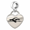 Longwood Engraved Heart Dangle Charm