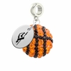 Longwood Lancers Crystal Drop Charm