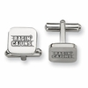 Louisiana Lafayette Ragin' Cajuns Stainless Steel Cufflinks