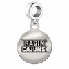 Louisiana Lafayette Round Dangle Charm