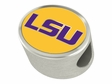 LSU Tigers Enamel Bead