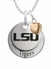 Louisiana State Tigers with Heart Accent