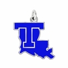 Louisiana Tech Bulldogs Logo Charm