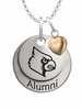 Louisville Cardinals Alumni Necklace with Heart Accent