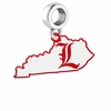Louisville Cardinals Logo Dangle Charm