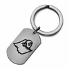 Louisville Cardinals Stainless Steel Key Ring