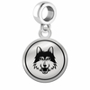 Loyola Chicago Ramblers Border Round Dangle Charm