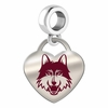 Loyola Chicago Ramblers Color Heart Dangle