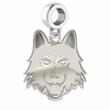 Loyola Chicago Ramblers Dangle Charm