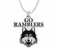 Loyola Chicago Ramblers Spirit Mark Charm