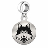 Loyola Chicago Round Dangle Charm