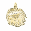 Loyola Marymount Lions 14K Yellow Gold Natural Finish Cut Out Logo Charm