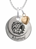 Loyola Marymount Lions Alumni Necklace with Heart Accent