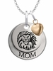 Loyola Marymount Lions MOM Necklace with Heart Charm