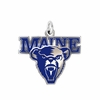 Maine Black Bears Logo Charm