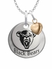Maine Black Bears with Heart Accent