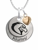 Marquette Golden Eagles Alumni Necklace with Heart Accent