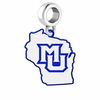 Marquette Golden Eagles Logo Dangle Charm