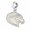 Marquette Golden Eagles Natural Finish Dangle Charm
