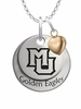 Marquette Golden Eagles with Heart Accent