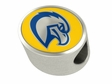 Marquette Golden Eagles Enamel Bead