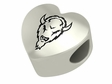 Marshall The Thundering Herd  Heart Shape Bead