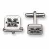 Marshall The Thundering Herd Stainless Steel Cufflinks