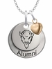 Marshall Thundering Herd Alumni Necklace with Heart Accent