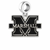 Marshall Thundering Herd Logo Cut Out Dangle