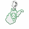 Marshall Thundering Herd Logo Dangle Charm