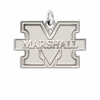 Marshall Thundering Herd Natural Finish Charm