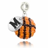 Maryland Terps Crystal Drop Charm