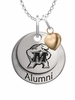 Maryland Terrapins Alumni Necklace with Heart Accent