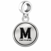 Maryland Terrapins Border Round Dangle Charm
