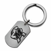Maryland Terrapins Stainless Steel Key Ring