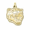 Memphis Tigers 14K Yellow Gold Natural Finish Cut Out Logo Charm
