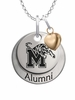 Memphis Tigers Alumni Necklace with Heart Accent