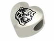 Memphis Tigers Heart Shape Bead