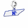 Memphis Tigers Logo Dangle Charm