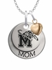 Memphis Tigers MOM Necklace with Heart Charm