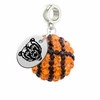 Mercer Bears Crystal Drop Charm