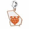 Mercer Bears Logo Dangle Charm