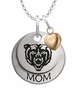Mercer Bears MOM Necklace with Heart Charm