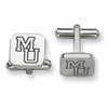 Mercer Bears Stainless Steel Cufflinks