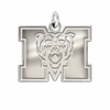 Mercer Bears Natural Finish Charm