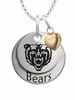 Mercer Bears with Heart Accent