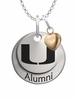Miami Hurricanes Alumni Necklace with Heart Accent