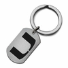 Miami Hurricanes Stainless Steel Key Ring