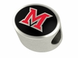 Miami of Ohio Red Hawks Premium Bead
