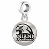 Miami Ohio Round Dangle Charm